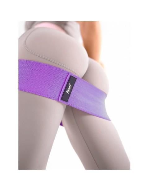 Набор тканевых фитнес-резинок FitRule 3 шт
