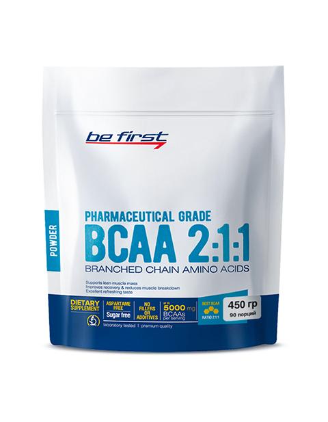 BCAA 2:1:1 Powder Be First 450 грамм