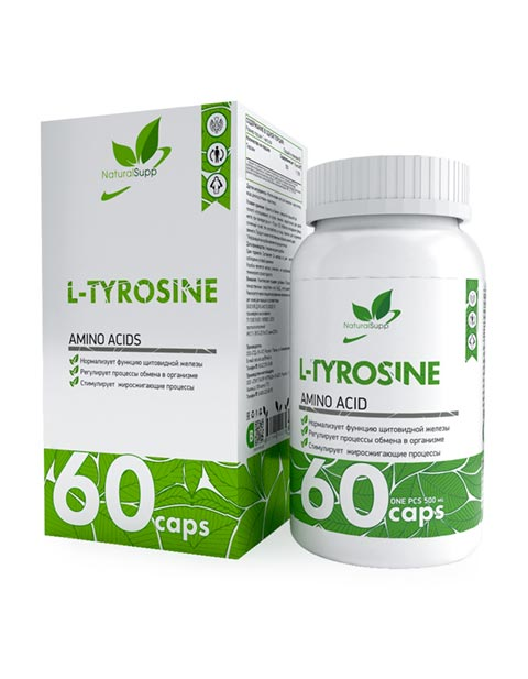 L-Tyrosine NaturalSupp 60 капсул
