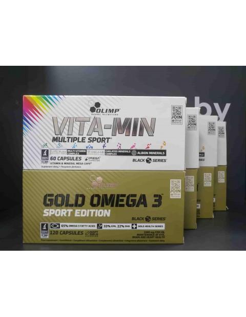 Комплекс для иммунитета от OLIMP. Витамины и минералы + Омега 3