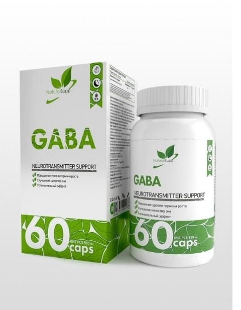 Gaba NaturalSupp 60 капсул