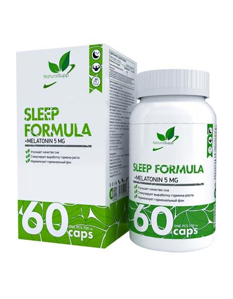 Sleep Formula NaturalSupp 60 капсул