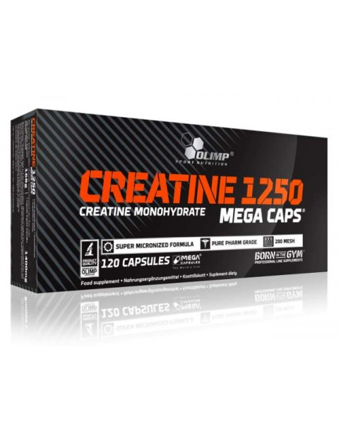 Creatine 1250 mega caps Olimp 120 капсул