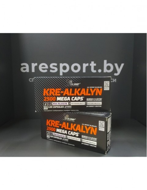 Kre-Alkalyn 2500 mega caps Olimp 120 капсул