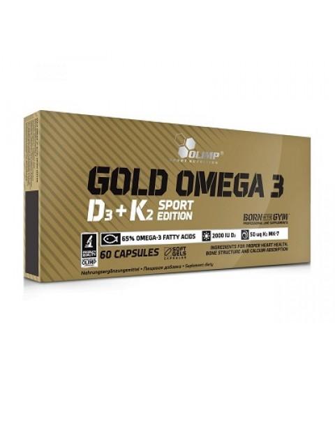 Gold Omega 3 D3+K2 Olimp 60 капсул