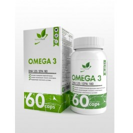 Omega 3 NaturalSupp 60 капсул