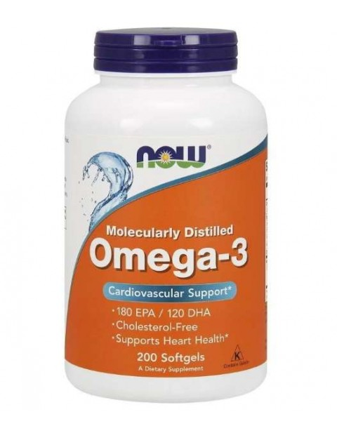Omega 3 Now 200 капсул