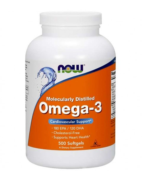 Omega 3 Now 500 капсул