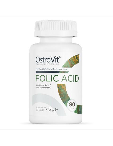 Folic Acid Ostrovit 90 таблеток
