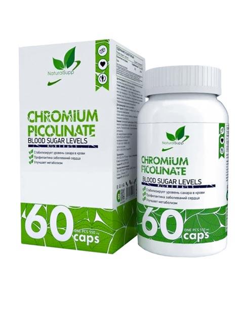 Chromium Picolinate NaturalSupp 60 капсул