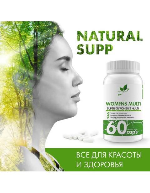Womens Multi NaturalSupp 60 капсул