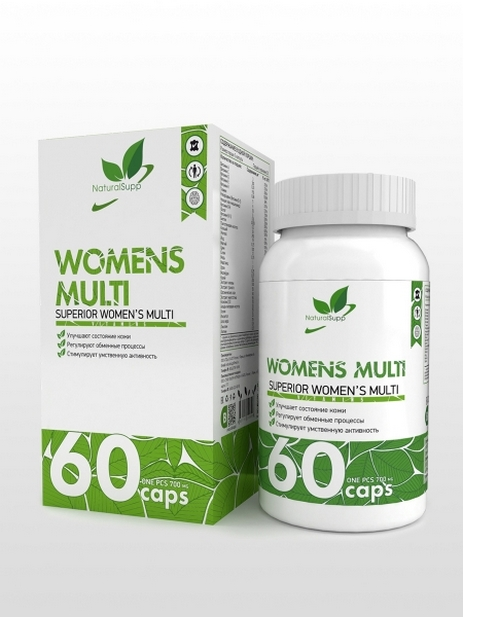 Womens Multi NaturalSupp 60 капсул