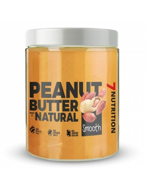 7 NUTRITION PEANUT BUTTER SMOOTH 1000 ГРАММ