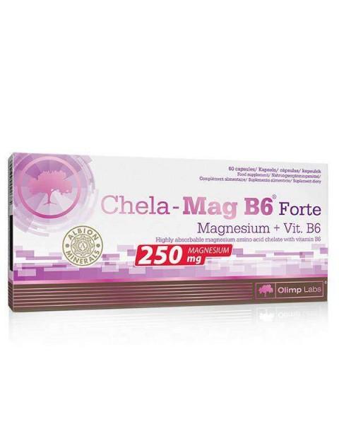 МАГНИЙ+B6 OLIMP CHELA-MAG B6 FORTE MEGA CAPS 60 КАПСУЛ