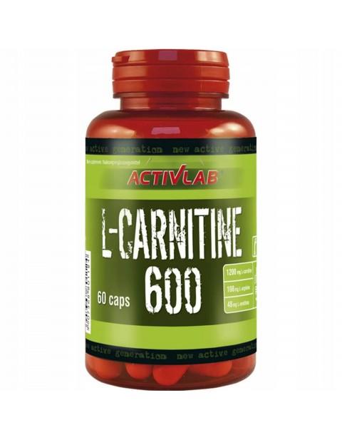 ACTIVLAB L-CARNITINE 600 60 КАПСУЛ