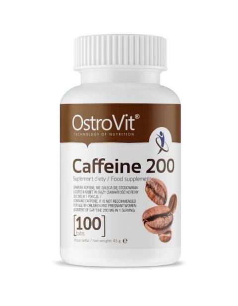 КОФЕИН OSTROVIT CAFFEINE 100 ТАБЛЕТОК