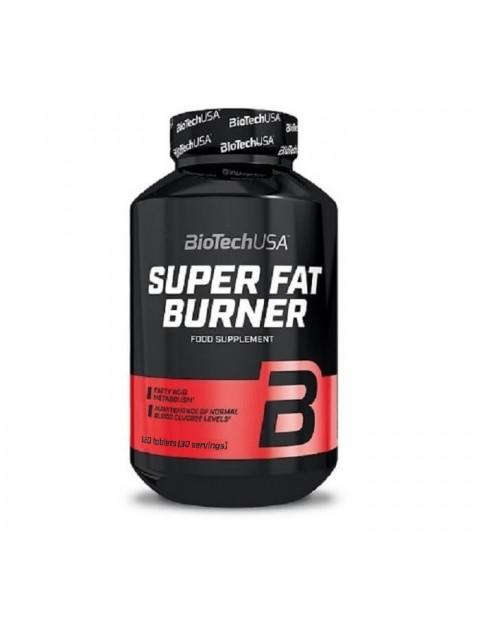 ЖИРОСЖИГАТЕЛЬ BIOTECH USA SUPER FAT BURNER 120 ТАБЛЕТОК