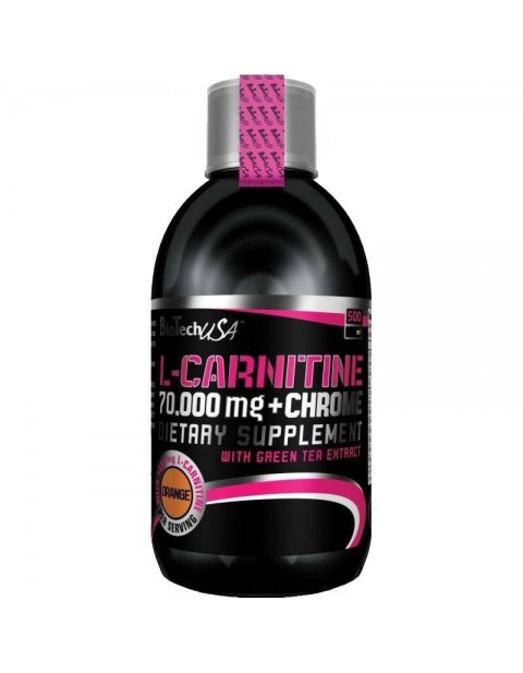 BIOTECH USA L-CARNITINE+CHROME 70.000 500 МЛ