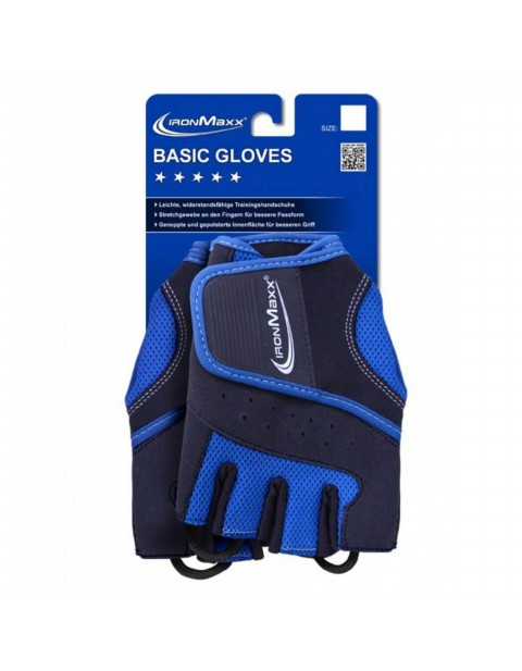 IRONMAXX Basic Gloves Men Чёрно-синие