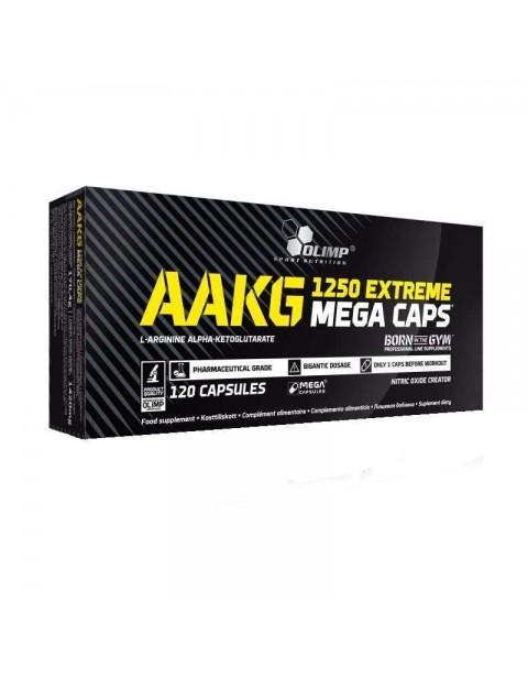 АРГИНИН OLIMP AAKG 1250 EXTREME MEGA CAPS 120 КАПСУЛ