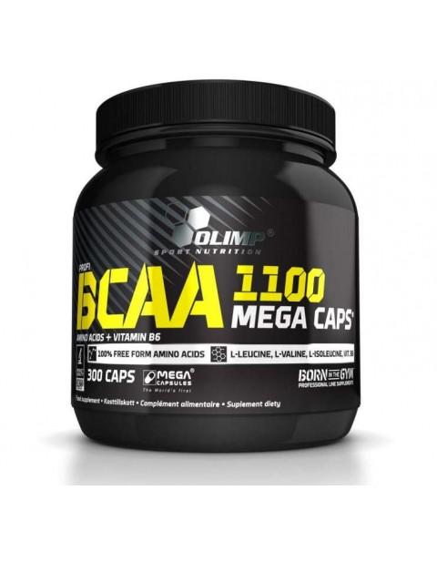 АМИНОКИСЛОТЫ OLIMP BCAA MEGA CAPS 1100 300 КАПСУЛ
