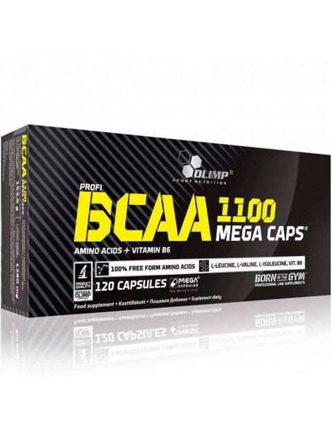 АМИНОКИСЛОТЫ OLIMP BCAA MEGA CAPS 1100 120 КАПСУЛ
