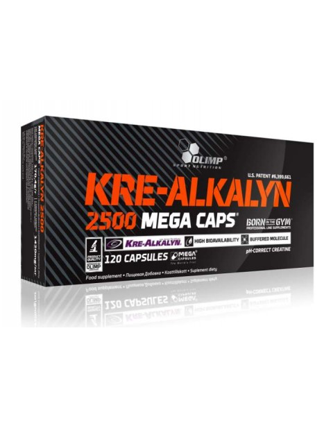 OLIMP Kre-Alkalyn Mega Caps 2500 120 капсул