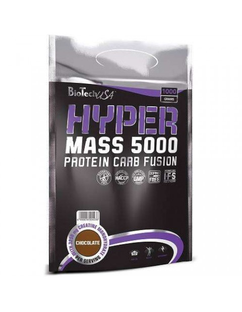 ГЕЙНЕР BIOTECH USA HYPER MASS 5000 1000 ГРАММ