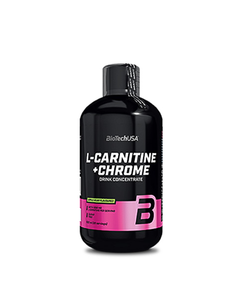 Л КАРНИТИН BIOTECH USA L-CARNITINE+CHROME 500 МЛ