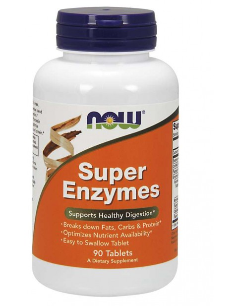 ЭНЗИМ NOW SUPER ENZYMES 90 ТАБЛЕТОК