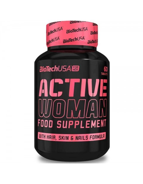 BIOTECH USA ACTIVE WOMAN 60 ТАБЛЕТОК